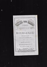 Notice on the Wine of Bourgeaud Tonic to Quinquina and Cocoa Dr with Cazenave E8