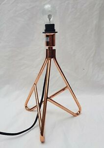 Copper Pipe Table Lamp (Height )