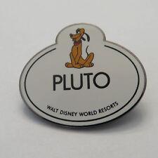 Disney WDW CM Pluto Nametag Pin