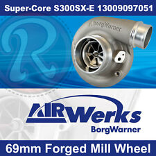 Borg Warner S300SX-E Super-Core Turbo 69mm Inducer - Forged Mill Wheel-BRAND NEW