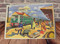 Carte-Expo Affiche Set de table  30x42cm Gare de Voyageur Cercy la Tour BB 16037