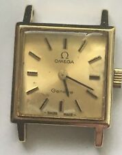 Vintage OMEGA Ladies 1970's Geneve Swiss Made Gold Plated manual wind Watch