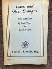Lovers and Other Strangers Five Comedies by Renee Taylor & Joseph Bologna Play