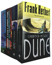 Frank Herbert Dune, Sandworms of Dune 4 Books Collection Set  Paperback NEW