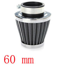 60MM For Motorcycle Power ATV Scooter Cone Race Air Filter Replacement Sales
