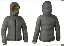 NWT Eddie Bauer Womens Peak XV 850 Fill Power Down Jacket Coat Parka Slate Siz L