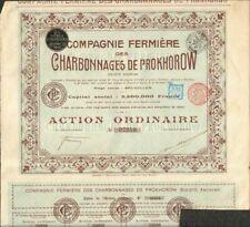 CHARBONNAGES DE PROKHOROW 1905 (RUSSIE) (D)
