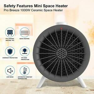 Electric Heater Ceramic with Overheat and Safe Protection Mains Powered