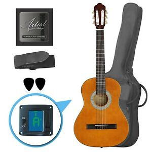 Customer Returned Artist CL34AM 3/4 Size Classical Guitar Pack, Nylon String - A