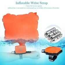Wristband Buoy Bracelet Portable Floating Swimming Lifesavity Device With CO2