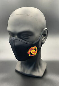 One (1) Adidas Manchester United Face Mask Cover Authentic Adult Size Small Utd