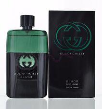Gucci Guilty Black by Gucci for Men 3.0 oz Eau de Toilette Spray NIB Sealed