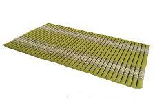 Kapok tapis thai rollmatte roulant sol gymnastique futon vert