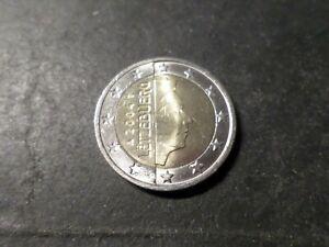 LUXEMBOURG PIECE de 2 EURO 2004, TTB, VF COIN