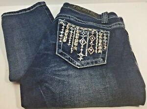 Rue 21 Premier Jeans Women's Size 8 Regular Mid Rise Skinny Denim Jeans Free Shi