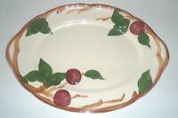 """Franciscan Apple Large Oval Serving Platter 14"""" California USA Vintage"""