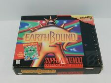 Earthbound Super Nintendo SNES Game Big Box Complete w/ Tray & Guide NRMT! USA