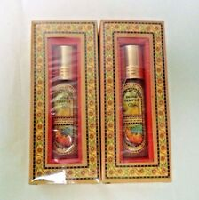Song of India Temple Perfume Oil, TWIN PACK: 2 X 8 ml Bottles (Body Oils)