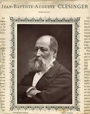 Goupil, Jean Pierre Auguste Clesinger - Statuaire  Vintage print.  Photoglypti