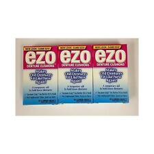 NEW Ezo Denture Cushions Lower Heavy 15 Each - 3 Pack