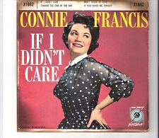 CONNIE FRANCIS - If I didn´t care
