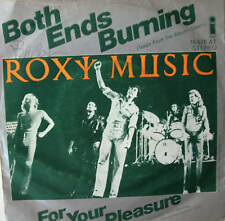 "7"" 1973 RARE MINT- !! ROXY MUSIC : Both Ends Burning"