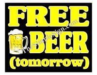 Custom Decor Bar Beer Sign, Pub, Restaurant, Lounge #08