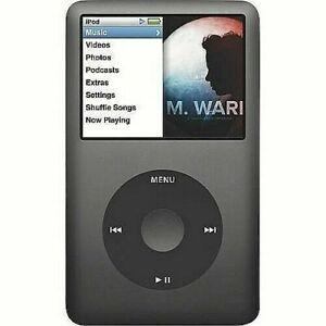 NEW ipod classic 5th, 6th 7th generation,80GB, 120GB, 160GB-1 year warranty