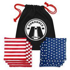 GoSports Stars and Stripes Official Cornhole / Bag Toss Bean Bag Set