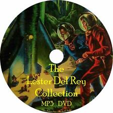 Lester Del Rey Sci-Fi Audiobook Collection in English on 1 MP3 DVD Free Shipping