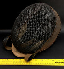 Antique Fencing Mask - Great Color And Condition For Age