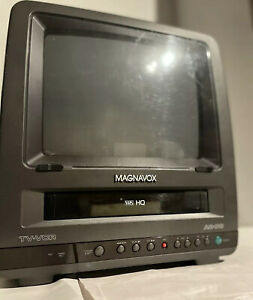 "MAGNAVOX 9"" Retro Gaming CRT TV CCR095AT04 w/ Original Remote *Read Description"