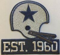 2020 DALLAS COWBOYS PATCH 60TH ANNIVERSARY HELMET STYLE 60 SEASONS 1960 JERSEY