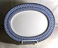 "Rorstrand 10033 10 1/2"" Small Oval Serving Platter"