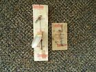 "Vintage Lot Of 2 "" NOS "" South Bend Lures,1,June Bug Spinner,1,Indiana Spinner"