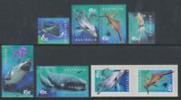 Australia - 1998, Year of Ocean set & Adhesive Values - MNH - SG 1822/7, 1822/3