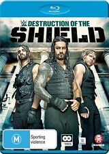 The WWE - Destruction Of The Shield (Blu-ray, 2016, 2-Disc Set)
