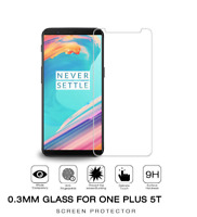 100% Genuine Tempered Glass Screen Protector For One Plus 5T Mobile Phone