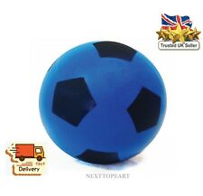 20cm Foam Sponge Football Size 5 Ball Soft Indoor Outdoor Soccer Toy,BLUE,NEW