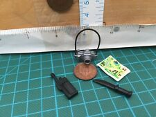 Playmobil New Doll House Spares - Toy Camera Map Knife Radio/ Walkie talkie