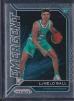 2020-21 PANINI PRIZM EMERGENT LAMELO BALL RC HORNETS #23
