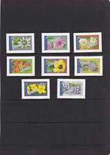 VANUATU 2006 FLOWERS SET SG.982a-982h INTERNATIONAL POST SELF-ADHESIVE  MNH