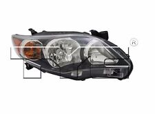 TYC NSF Right Side Halogen Headlight For Toyota Corolla S/XRS 2011-2013 Models