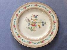 """Wedgwood ribbons and roses hand painted bone china 8 3/4"""" luncheon plate X9491"""