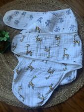 aden + anais Essentials Easy Wrap Swaddle 2 pieces 100% cotton 0-3 Months S/M