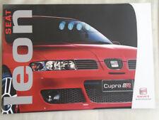 Seat Leon range brochure Jul 2004
