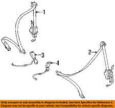 TOYOTA OEM 93-98 Supra Front Seat-Belt & Buckle Retractor Left 7322014492C0