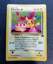 Pokémon - Pikachu di (compleanno) - holo - Wizard Black Star Promo 24 - italiano