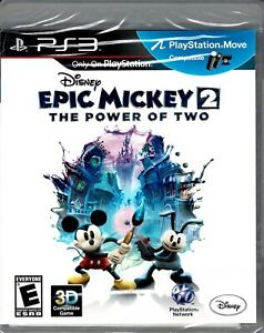 Disney Epic Mickey 2 The Power of Two Ps3 New Mickey and Oswald Save Wasteland