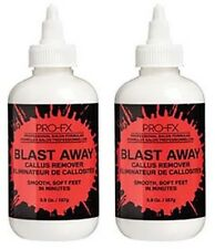 PRO-FX Blast Away Callus Remover for Fast Smooth Soft Feet  5.9 oz each (2 Pack)